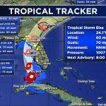 Tampa Racetrack Closes as Elsa Churns Toward Florida Coast