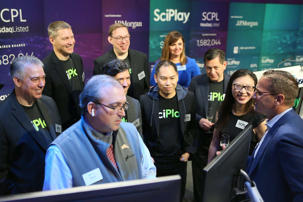SciPlay Takeover