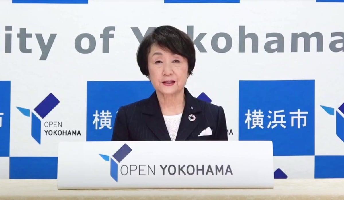 Yokohama mayor campaign Fumiko Hayashi