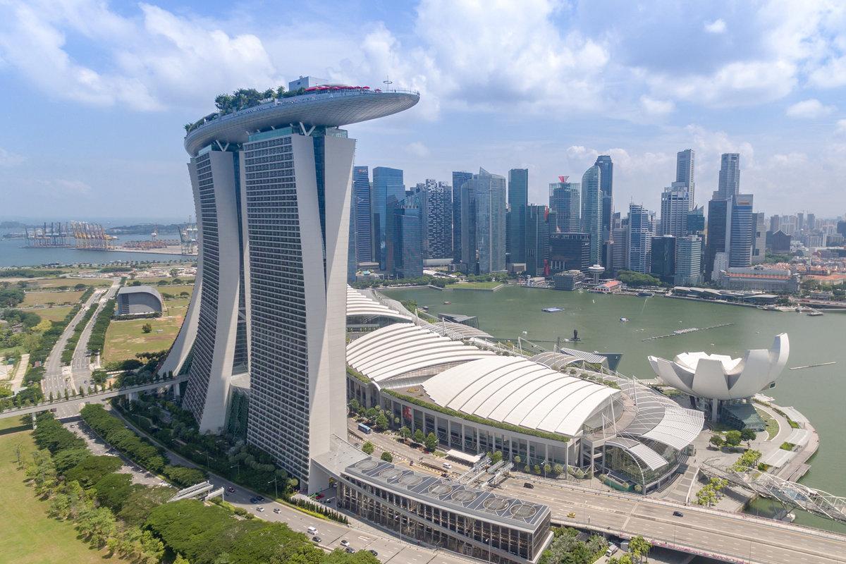 Singapore travel Marina Bay Sands casino resort