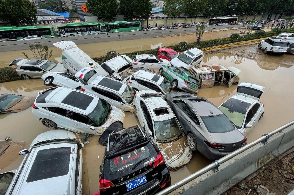 Macau casinos Henan flood China