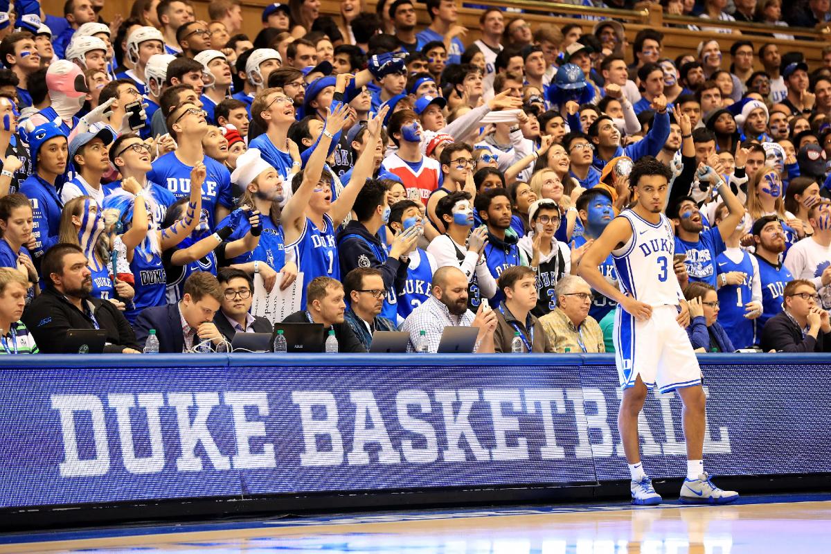 North Carolina sports betting Duke UNC
