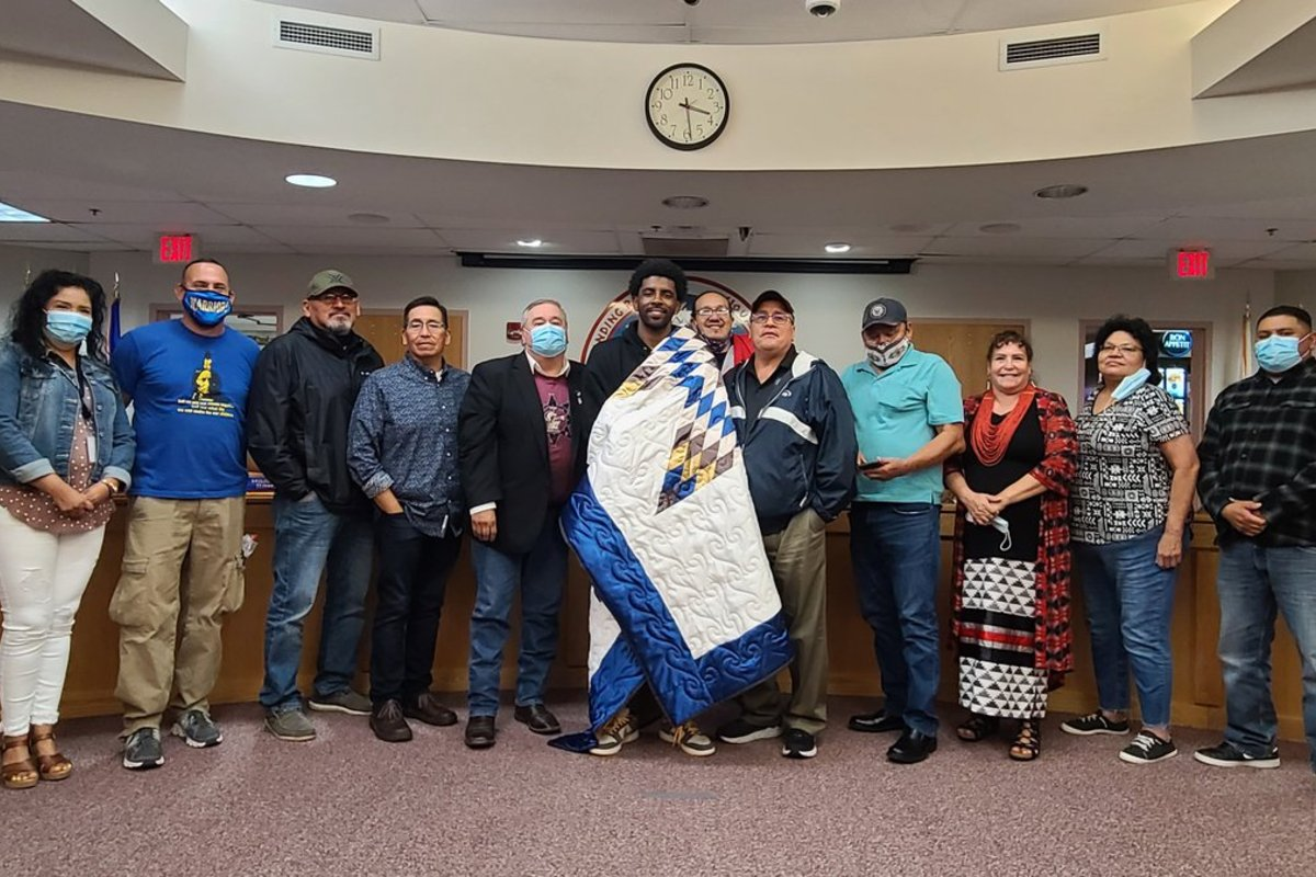 Kyrie Irving Standing Rock Sioux Tribe casino