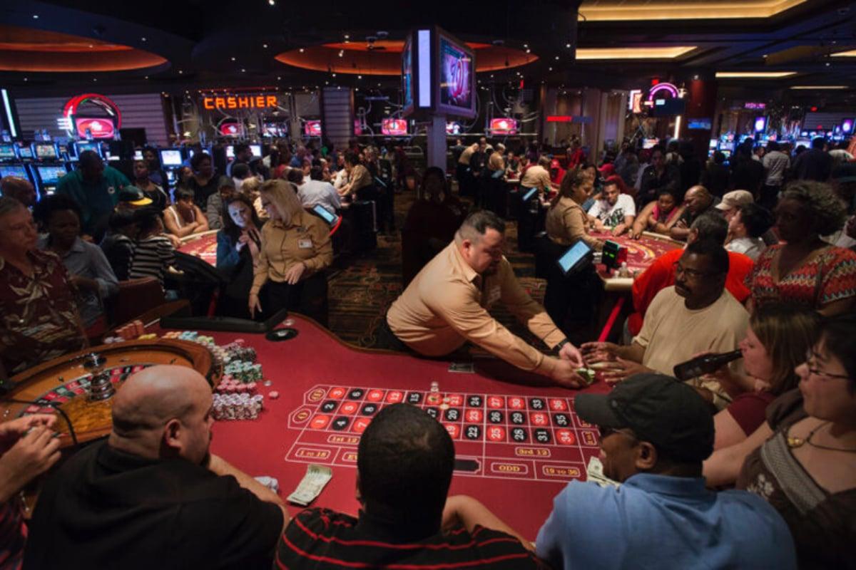 Maryland casinos gaming revenue Horseshoe