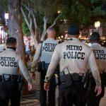 Las Vegas Strip Police Presence Includes Kiosk at Resorts World
