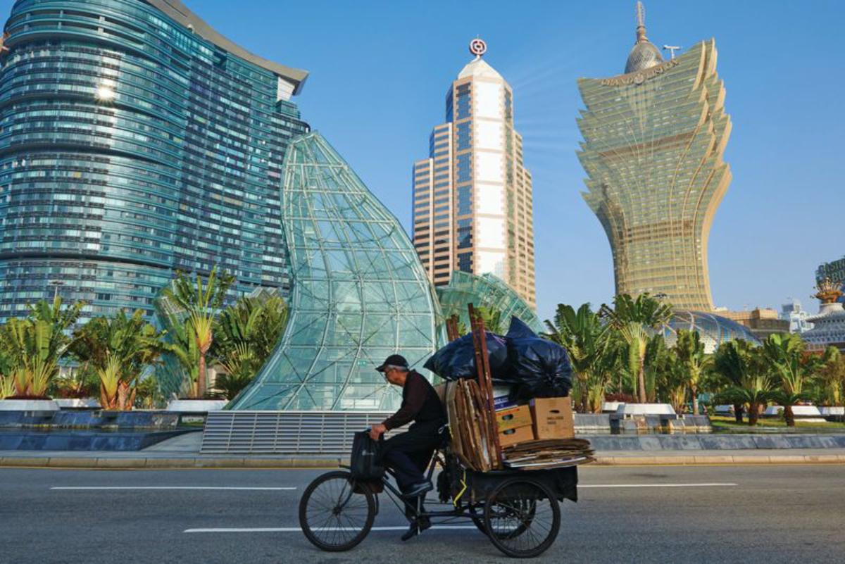 Macau casino gross gaming revenue GGR