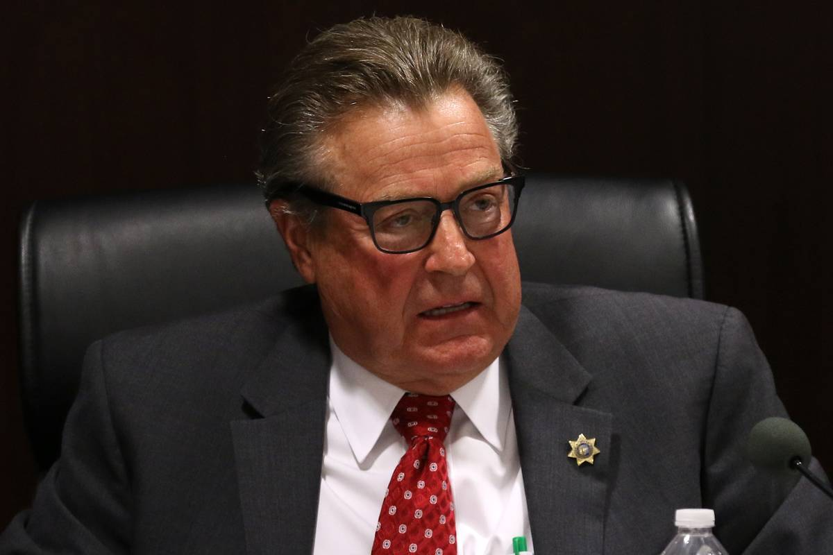 Nevada Gaming Commission John Moran Jr.