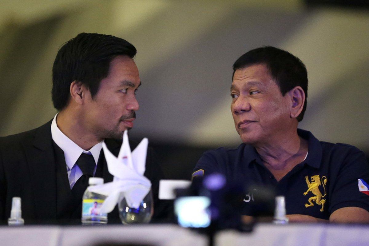 Manny Pacquiao Philippines president