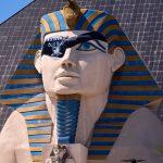 Sphinx Joins Raider Nation on Las Vegas Strip, As Fans Debate Vaccine
