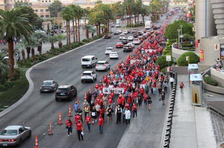 Culinary Union Vegas March