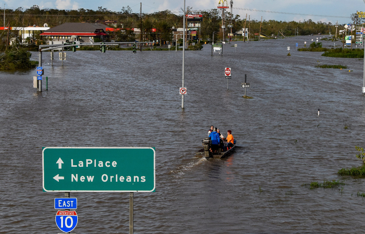 Hurricane Ida Louisiana election Slidell casino