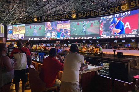 Sports betting revenue