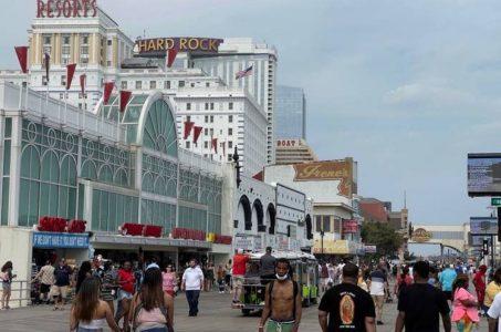 Atlantic City casinos gaming revenue