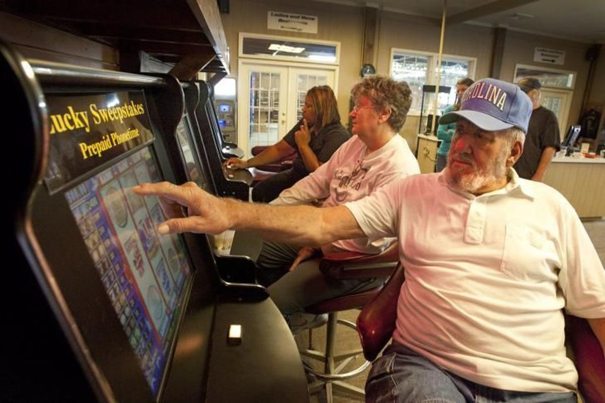 North Carolina lottery slot VLT gaming