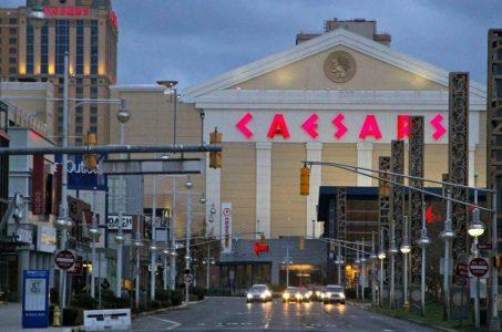 Atlantic City casino revenue GGR New Jersey