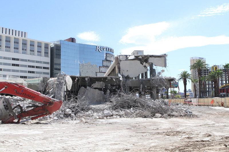 Riviera Casino Demolition