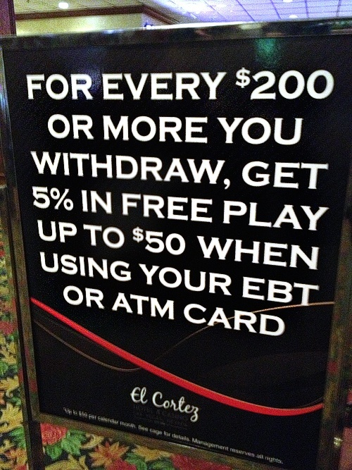 If you're not cringing, and you're not in casino marketing, you're doing it wrong.