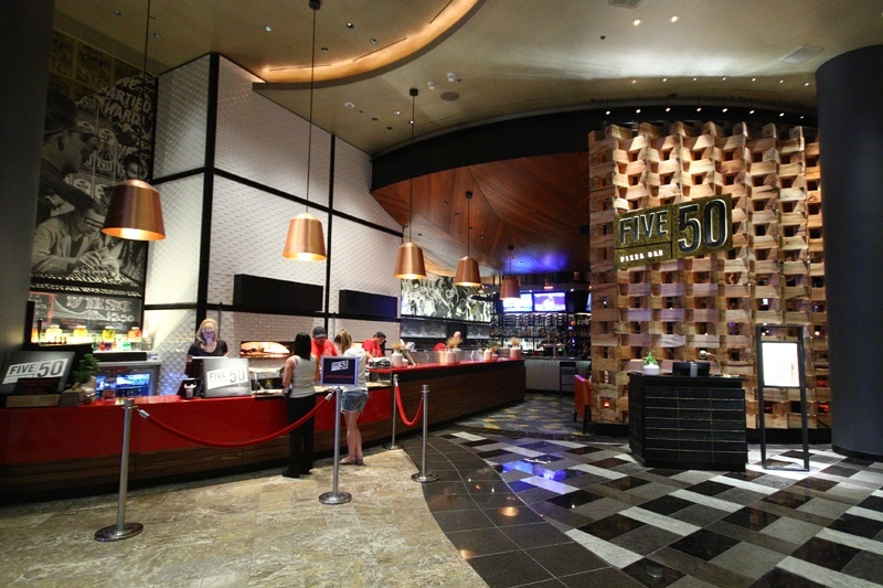 Located next to an annoying sports bar, Five50 is a great new place for a slice in Vegas.