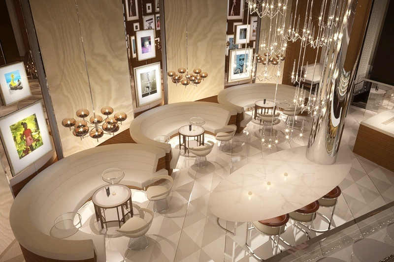 The new Fizz will cost $3.2 million and display artwork from Elton John's personal collection.