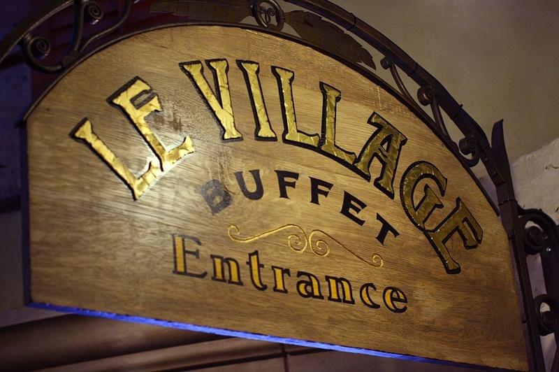 Le Village Buffet closed