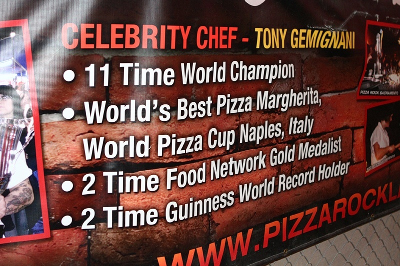 We'll try a pizza from a world champion any day of the week.