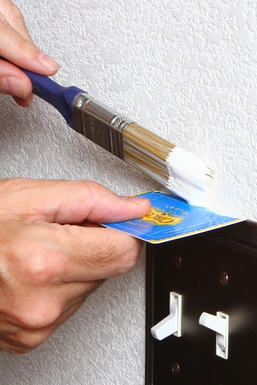 DIY painting precision, baby. We can call you baby, right?