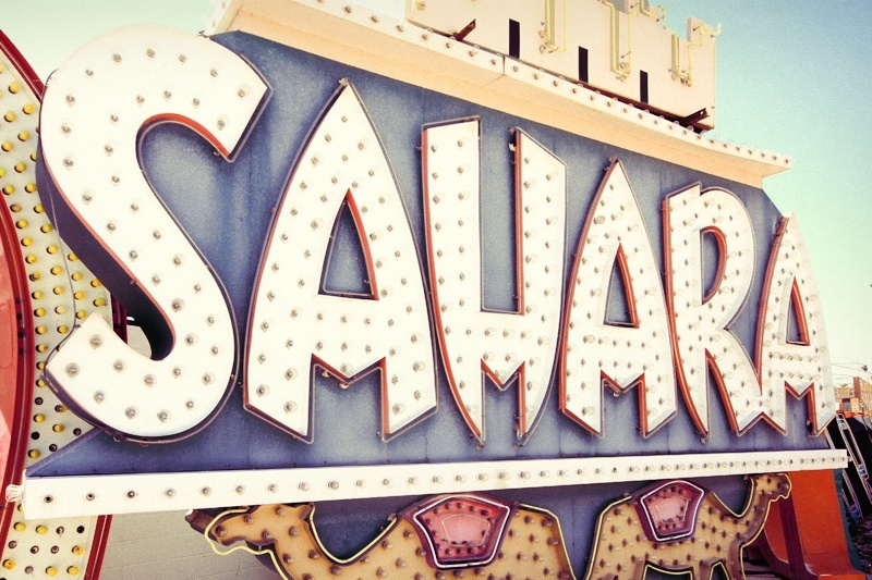 Club Bingo originally stood on the Sahara site. We'd like that back, too, although we have no idea why.