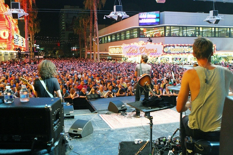 Downtown Las Vegas knows how to throw a party.