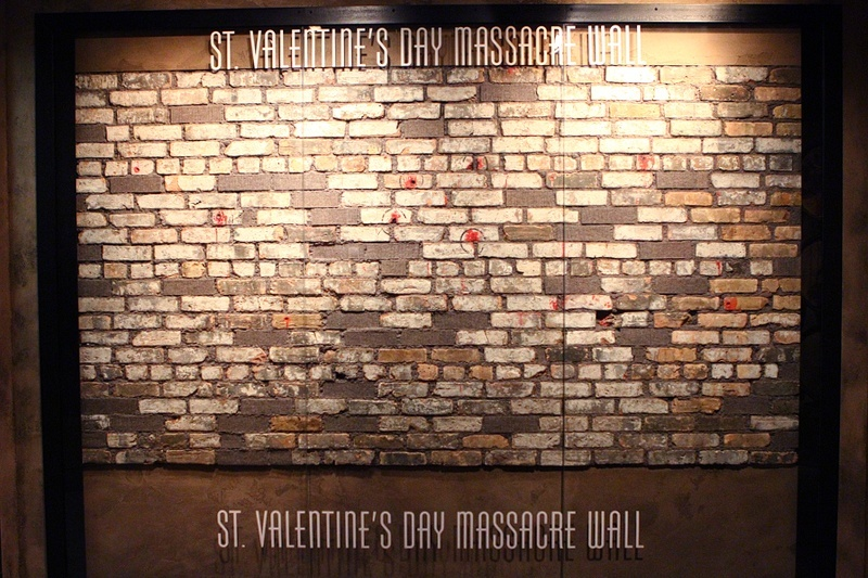The massacre took place in a warehouse in Lincoln Park, Chicago.