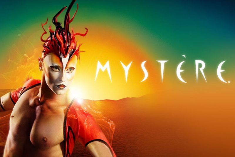 """""""Mystere"""" was originally planned for Caesars Palace, but it was deemed too financially risky. Good call, there."""
