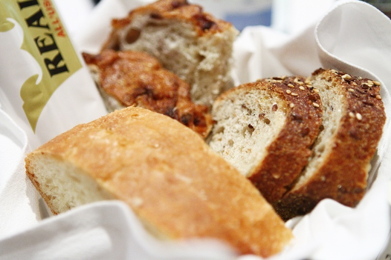 """""""Don't fill up on bread,"""" we said, knowing full well you're going to fill up on bread."""
