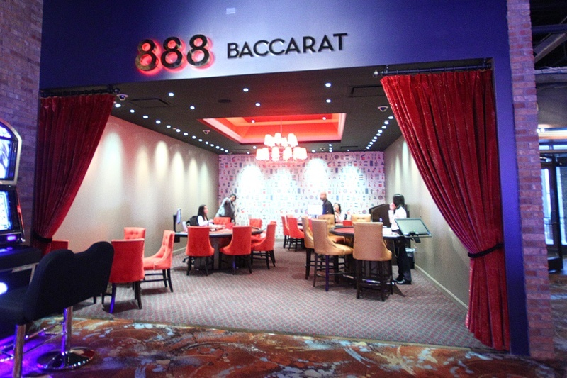 You could fit this baccarat parlor in your pocket. Security would probably have an issue with that, though.
