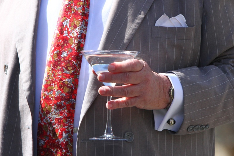 During his tenure as mayor, Oscar Goodman was rarely seen without a drink in his hand.
