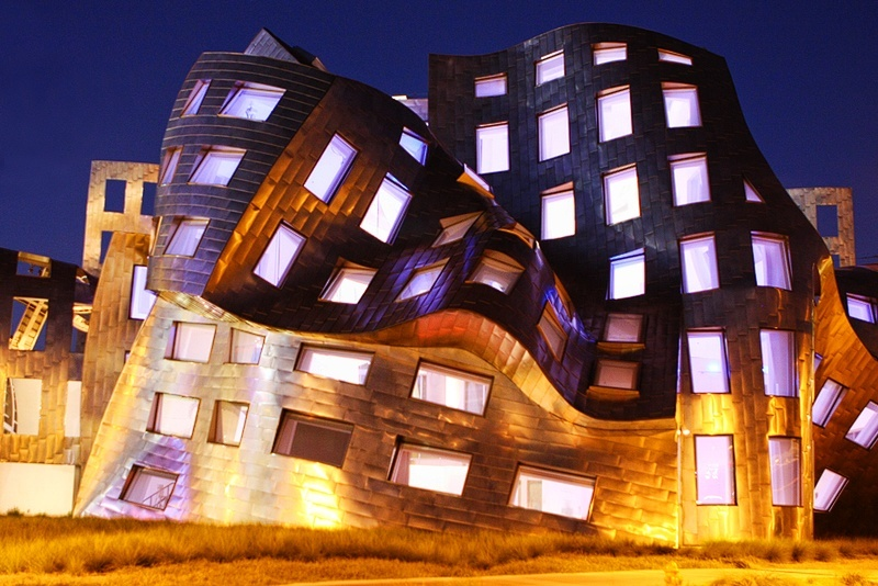 There's a reason the Lou Ruvo Center for Brain Health looks like a crumpled up piece of paper.
