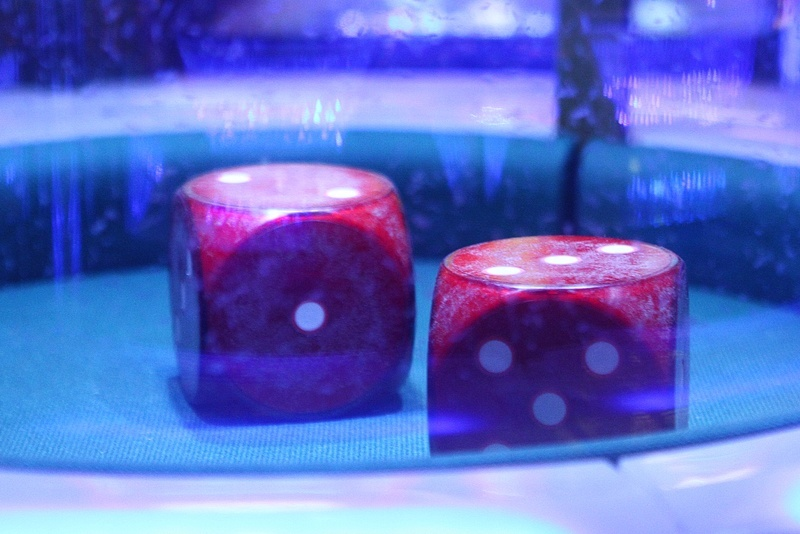 Big dice means big wins. Actual results may vary.