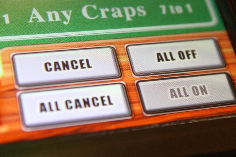 """The """"all off"""" button means your bets aren't """"working,"""" the """"All Cancel"""" pulls them down."""