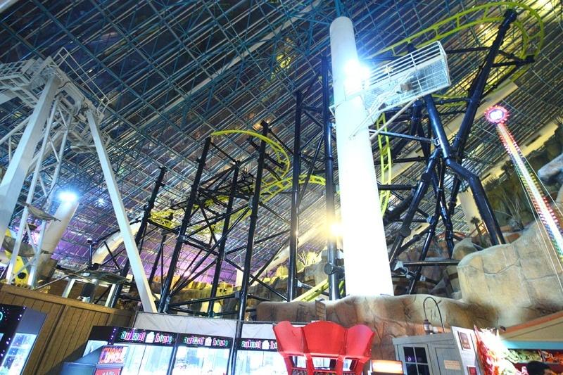 El Loco roller coaster Circus Circus Las Vegas