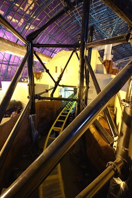 El Loco at Circus Circus roller coaster