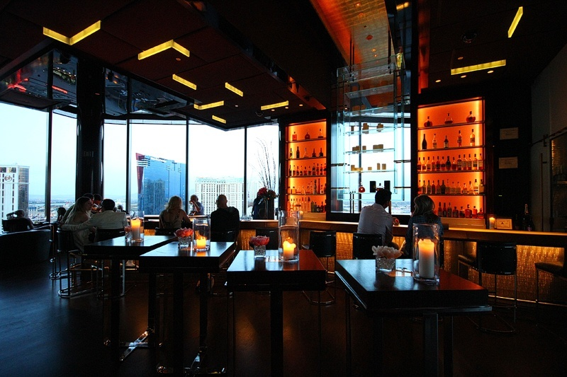 Mandarin Oriental Las Vegas bar