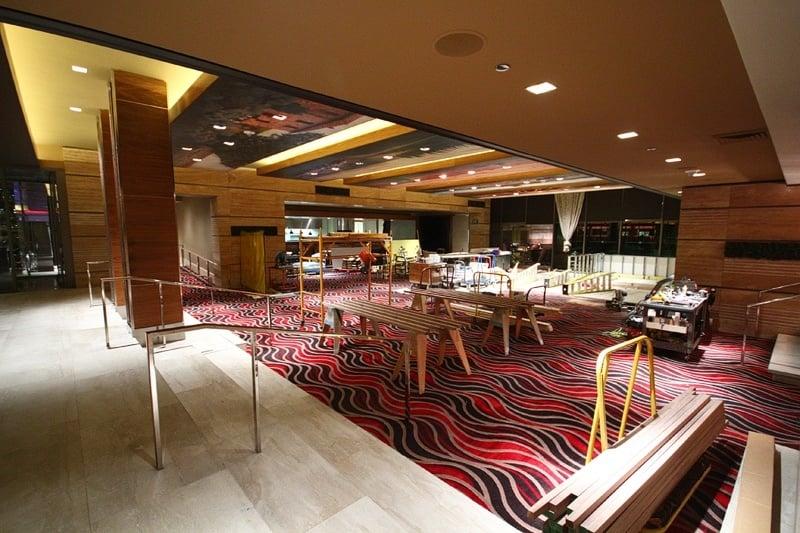 Las Vegas Italian Restaurant Marinelli's construction