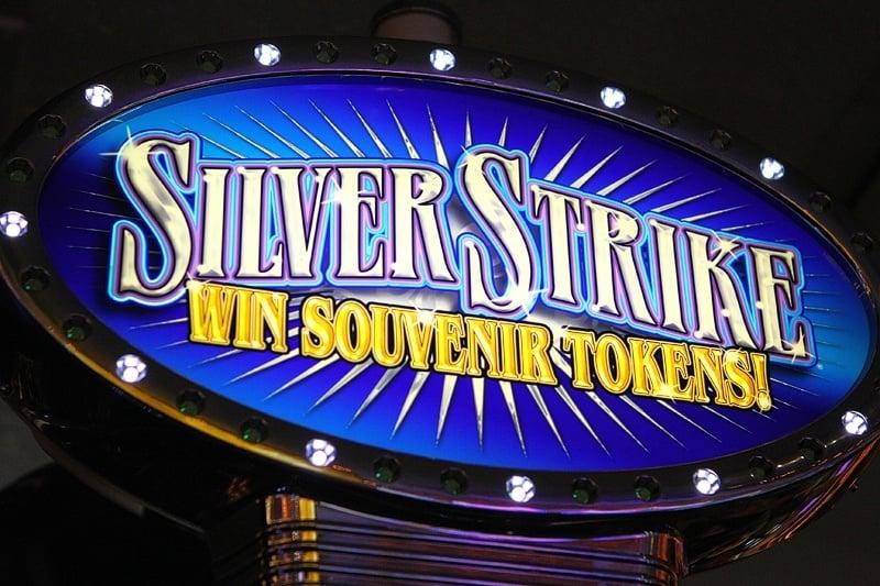 Silver Strike souvenir tokens