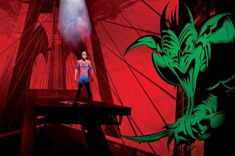 Spider Man show Las Vegas