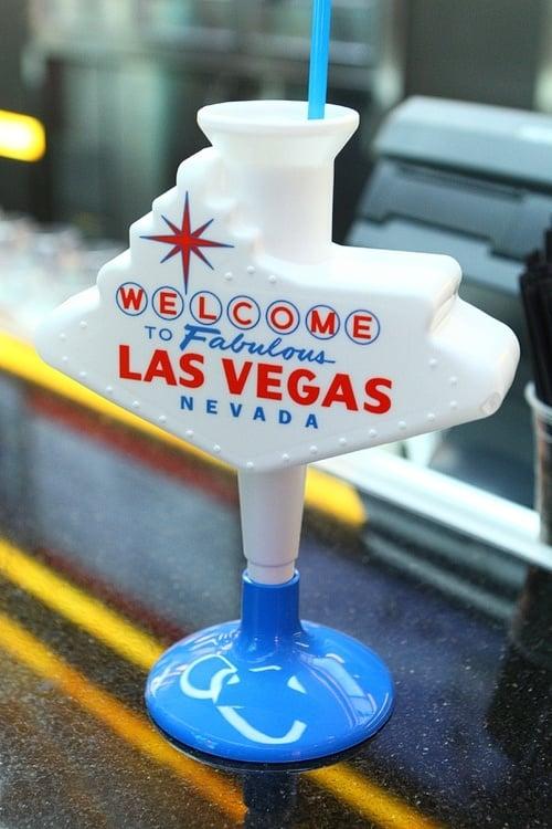 Las Vegas sign cup