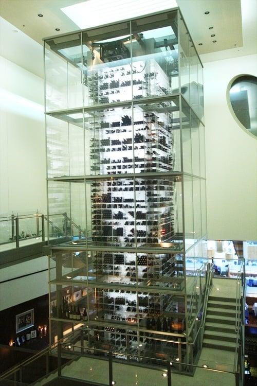 Aureole wine tower