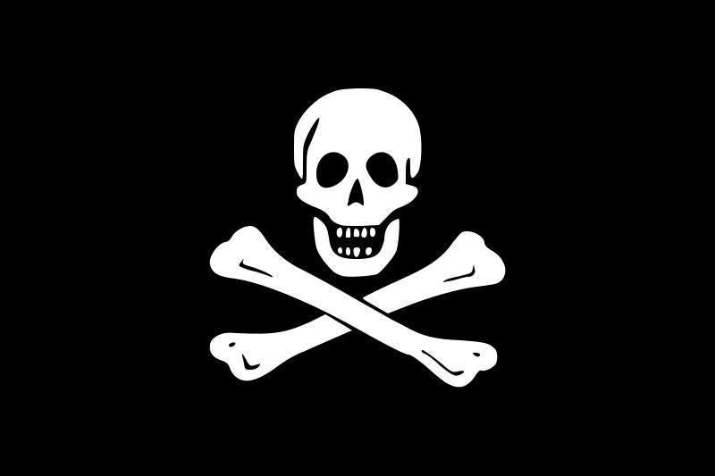 Black jack flag