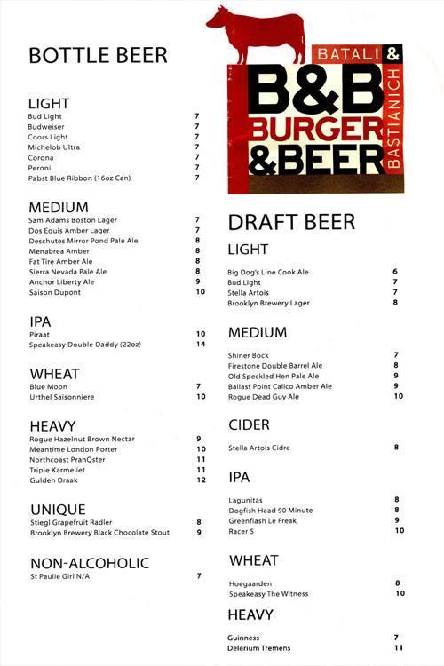 B&B Las Vegas beers