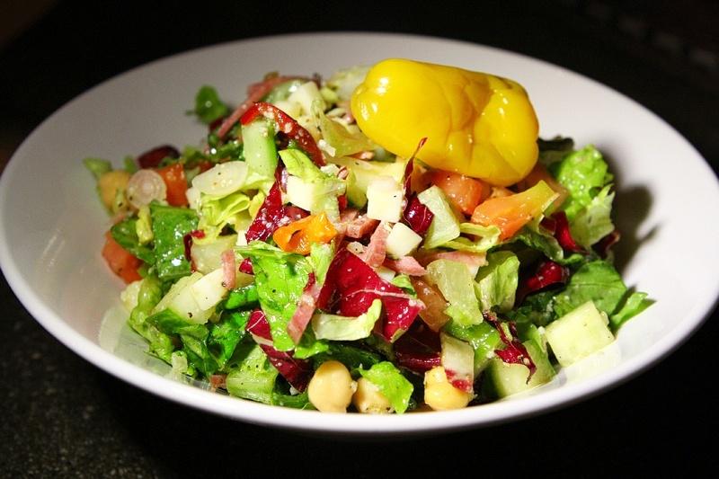 Burgers and Beer Chop salad