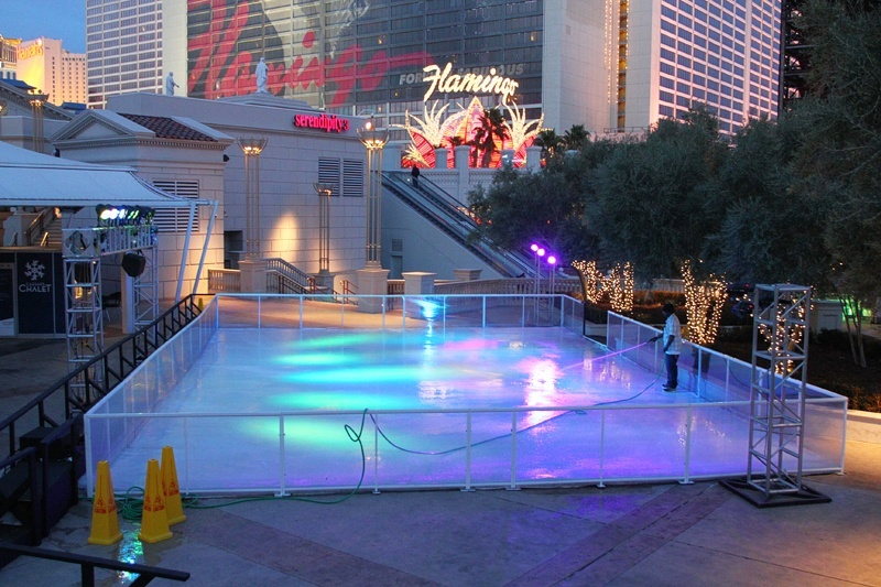 Las Vegas skating rink