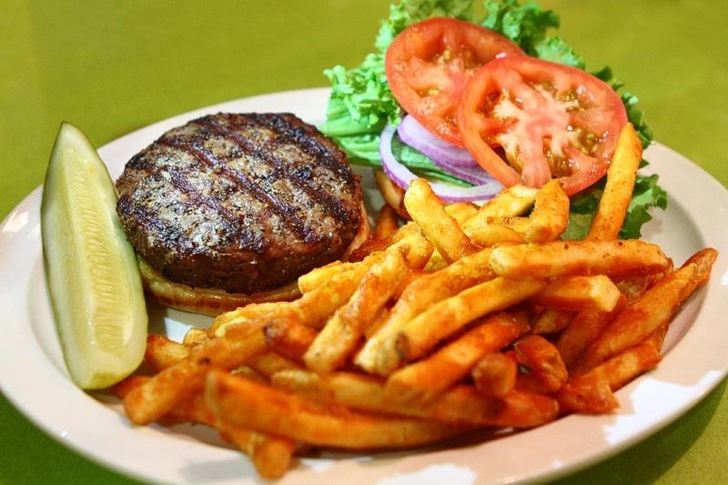 Gold Spike burger