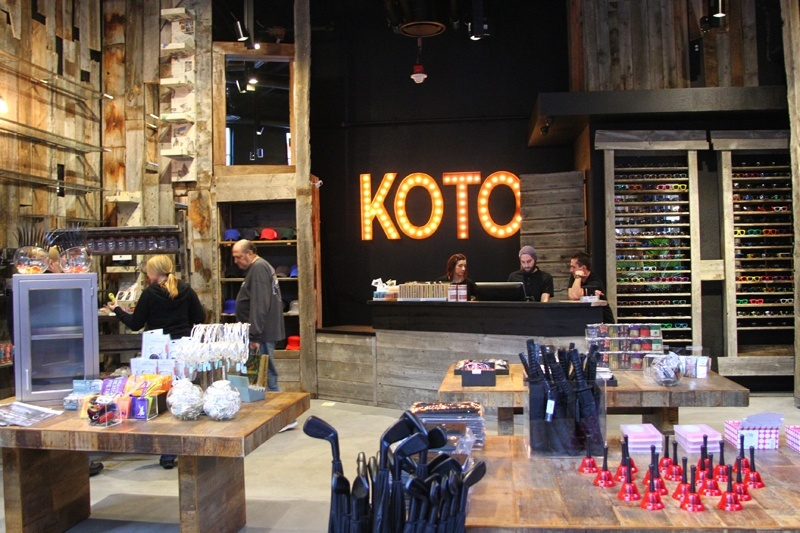"""""""Koto"""" comes from the Latin, """"Nothing spectacular, but we're first."""""""